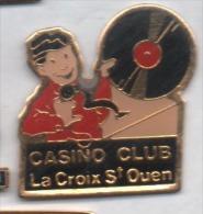 Ville De La Croix Saint Ouen , Casino Club , Musique , Discothéque , Oise - Städte