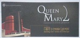 Eq2.g- QUEEN MARY 2 Liner Cunard Cruises Paquebot Chantiers Atlantique St Nazaire - Maritime & Navigational