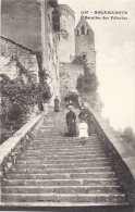 Cpa - Rocamadour - L'escalier Des Pélerins ( En L'état ) - Rocamadour