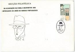 Portugal - Fernando Pessoa Poet Death - Mustache - Lisboa - Ecrivains