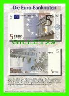 MONNAIES REPRÉSENTATION - 5 EURO - DIE EURO-BANKNOTEN - ALLEMAGNE, 1997 - - Monnaies (représentations)