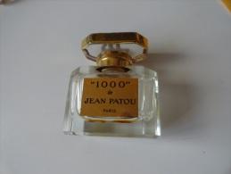 """VINTAGE / RARE  : """"1000"""" DE JEAN PATOU - Miniature Bottles (without Box)"""
