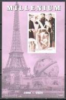 M0284 ✅ Circus Houdini Millenium 1999 Chad S/s Luxe MNH ** Imperf Imp - Circus