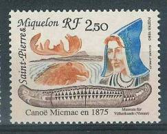 Saint-Pierre Et Miquelon -  Neuf **  Yvert N° 527 - Canoé - Neufs