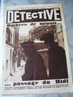Détective 1931 153 MONTMARTRE ARROMANCHES LIHUS HAMBURG - Books, Magazines, Comics