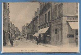 52 - LANGRES --  La Rue Diderot - Langres