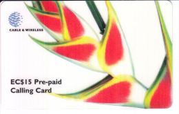 ST.LUCIA-P1-PRE PAID CALLING CARD EC$15 - Saint Lucia