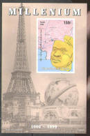 M0723 Maya Artefact Archeology Millenium 1999 Chad S/s Luxe MNH Imperf Imp ** - American Indians