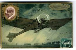EXPERIENCE AVIATION  D HUBERT LATHAN   -  MOURMELON LE GRAND JUIN 1909 - Aviateurs