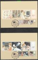 United Kingdom 1982 Information Technology 2v 2 MAXIMUM CARDS (12169) - Maximumkaarten