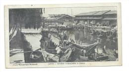 OSAKA (Japon) - Rivière Yodogawa - Carte Publicitaire Chocolat Du Planteur - Cliché Vérascope Richard - Osaka