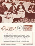 Postcard COVENT GARDEN Market 1900 Mary Queen Of Pea Shellers London Nostalgia Repro - Markets