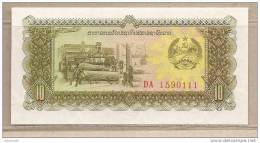 Laos - Banconota Non Circolata Da 10 Kip - Laos