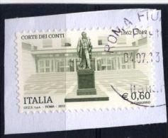Italia Italie Italy  2012 Usato -  Corte Dei Conti - 2011-...: Usati