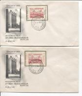 PR117/118 S/FDC 25° Foire Internationale De Bruxelles 21/4/1951 Athlétism Relais AP502 - ....-1951