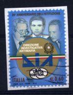Italia Italie Italy  2012 Usato - 20º Anniversario Della Direzione Investigativa Antimafia - 2011-...: Usati