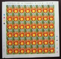 FRANCE 2005 FEUILLE COMPLETE DE 48 TIMBRES ORCHIDEE PAPILLON  YT N° 3765** - Feuilles Complètes