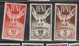 1951  Dia Del Sello ED 76/78 - Ifni