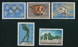 Greece 1967 Sports Events Set Mint No Gum T0522 - Usati