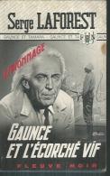 """FLEUVE NOIR ESPIONNAGE  - N° 1170  """" GAUNCE ET L'ECORCHE VIF """" -  SERGE LAFOREST - Fleuve Noir"""