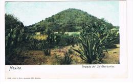 MEX-102    TEOTIHUACAN : Piramaide Del Sol - Mexique