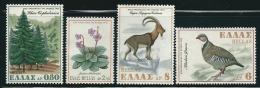 Greece 1970 Nature Conservation Year Set Mint No Gum T0540 - Usati