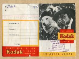 Pochette De Négatifs Photos - Kodak - Motif : Chiens Déguisés -  Albert (Somme) - Photographie