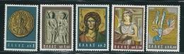 Greece 1964 Byzantine Art Set Mint No Gum T0545 - Usati
