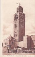 MAR19  --  MARRAKECH  --  MINARET DE LA KOUTOUBIA - Marrakesh