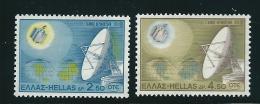 Greece 1970 Satellite Earth Communications Set Mint No Gum T0557 - Usati