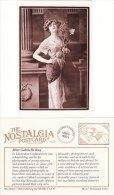 Postcard Miss Gabrielle Ray Edwardian Actress Show Girl Nostalgia Repro - Entertainers