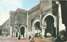 MEKNES - Bab Mansour (Détail D'Architecture) - Meknès