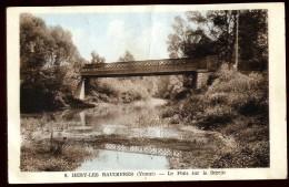 Cpa 89 Hery Les Baudières Le Pont Sur Le Serein      A10 - Hery