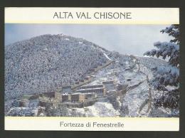 Torino - Provincia - Fenestrelle - La Fortezza - Formato Grande - Non Viaggiata - Other