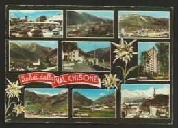 Torino - Provincia - Saluti Dalla Val Chisone - Vedute - Formato Grande - Viaggiata 1966 - Other