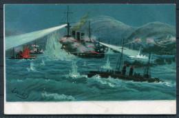 Russie - Guerre Russo-japonaise L'attaque Des Brûlots Japonais à Port-Arthur - Andere Kriege