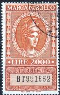 Marca Da Bollo - 6. 1946-.. Repubblica