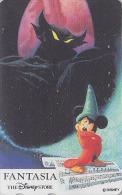 Télécarte Japon  / 110-179339 - DISNEY STORE - FANTASIA / Mickey - Japan Movie Cinema Film Phonecard - Disney