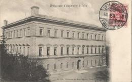 Ambassade D´Angleterre à Péra Cpa écrite Et Timbrée Le 28 Février 1914 à Constantinople Par La Poste Allemande - Turquie