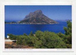 GREECE - AK 182521 Blick Von Kalymnos Auf Die Insel Telendos - Grecia