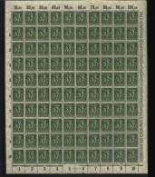 D.R.Bogen,Nr.187,DZ Ba Feld 96 Kopfstehend,xx (M2) - Deutschland
