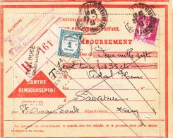 Paix Perforé CIMA Sur Avis Taxé 1933 Recommandé Toulouse Arnaud Bernard - Machines Agricoles - !!! Timbre Défectueux - France