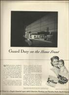 @@@ Toilet Tissue ADD - Out Of 1943 Magazine, 25x30 Cm - Publicités