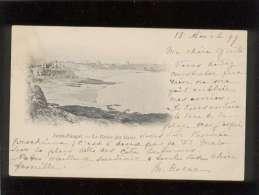 35 Saint énogat Dinard La Grève Des Bains Pas D'édit. Voyagée En Aout 1899 - Altri Comuni