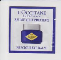 Cream - L´Occitane - Precious Eye Balm - 1 Ml. - Schoonheidsproducten
