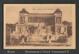 CPA - Carte Postale - Rome - Monument à Victor-Emmanuel II - - Monuments