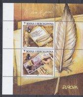 Europa Cept 2008 Bosnia/Herzeovina Sarajevo M/s With White Margin ** Mnh (12172) - 2008