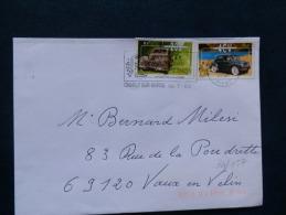 39/057    LETTRE  FRANCE - Autos