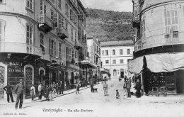 [DC6617] VENTIMIGLIA (IMPERIA) - VIA ALLA STAZIONE - Viaggiata - Old Postcard - Imperia