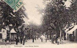 [DC6618] VENTIMIGLIA (IMPERIA) - CORSO PRINCIPE AMEDEO - Viaggiata - Old Postcard - Imperia
